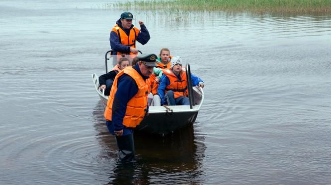 Khoảng 36 người đã được cứu sống trong thảm họa.
