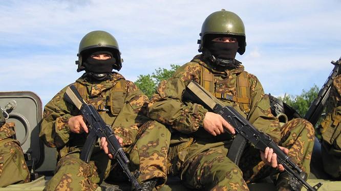 Lính thủy đánh bộ Nga ở nước ngoài (ảnh minh họa).