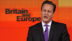 Thủ tướng David Cameron phát biểu về vai trò nước Anh trong Liên hiệp châu Âu (ảnh: REUTERS).