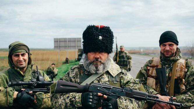 Lực lượng vũ trang ở Donbass.
