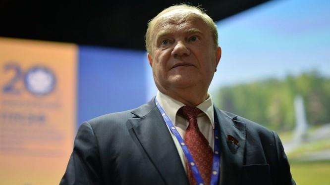 Nhà lãnh đạo đảng Cộng sản Nga Gennady Zyuganov .