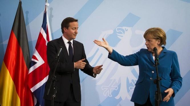 Lãnh đạo Anh - Đức (ảnh minh họa)