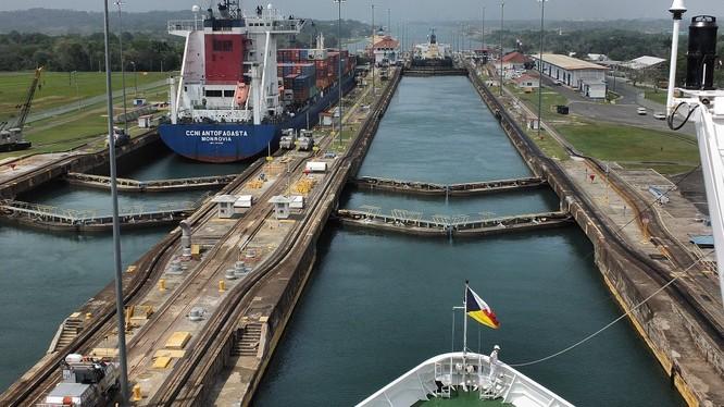 Kênh đào Panama mở cửa sau cải tạo.