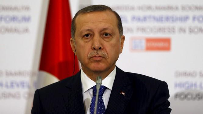 Tổng thống Erdogan bất ngờ gửi thư xin lỗi Nga vụ bắn rơi máy bay Su-24