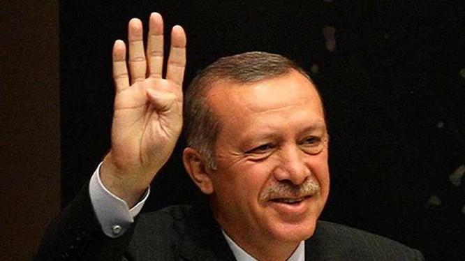 Tổng thống Thổ Nhĩ Kỳ Erdogan.