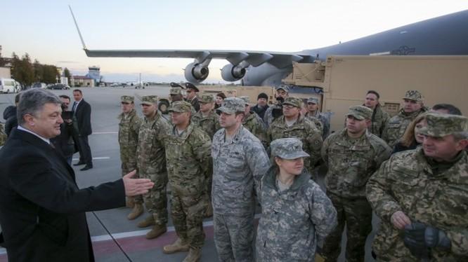 Ukraine và Mỹ bắt đầu tập trận quân sự