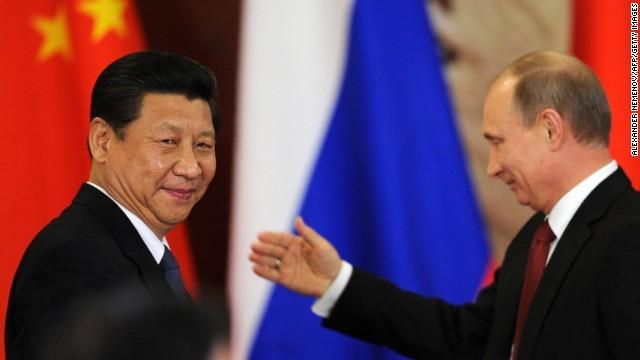Lãnh đạo Trung - Nga: Tập Cận Bình - Putin
