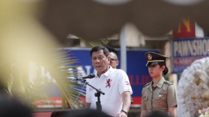 Tổng thống đắc cử Philippines, ông Rodrigo Duterte. Ảnh: Philstar.com.