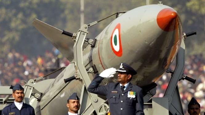 Ấn Độ là nước sở hữu vũ khí hạt nhân.