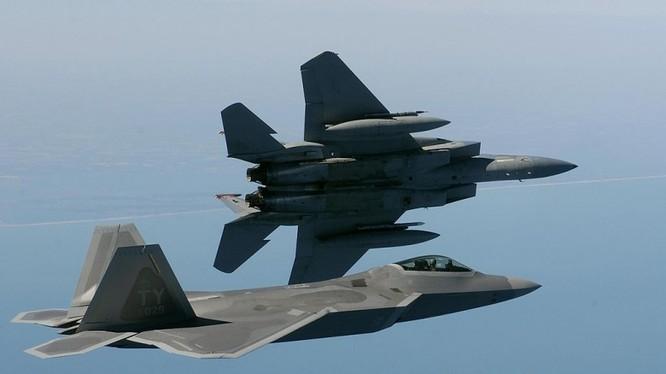 Sức mạnh Không quân Mỹ.