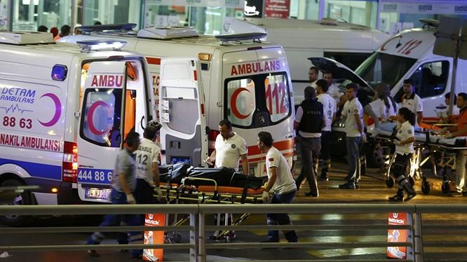 IS đứng sau vụ tấn công tại sân bay Istanbul.
