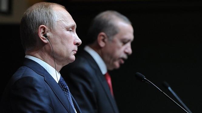 Ông Putin và ông Erdogan đồng ý thỏa thuận gặp riêng
