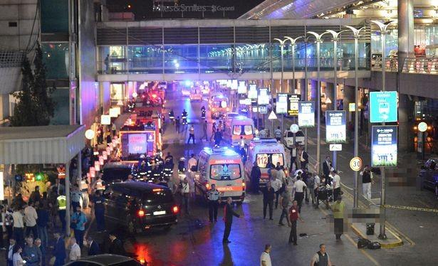 Vụ tấn công sân bay Ataturk.
