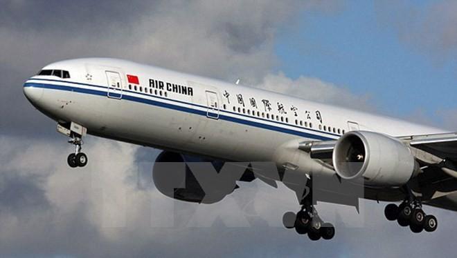 Máy bay của Hãng Air China. (Nguồn: AP/TTXVN)