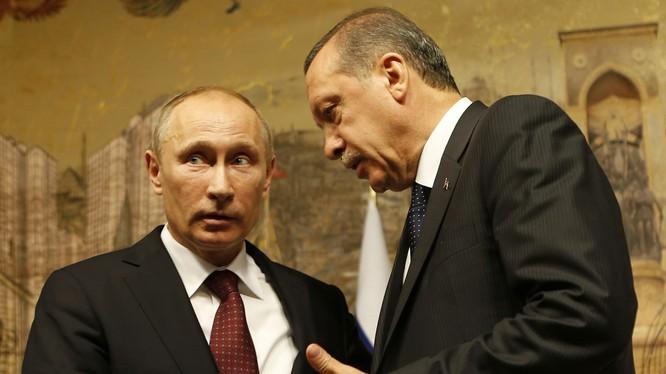 Lãnh đạo Nga - Thổ Nhĩ Kỳ (ảnh tư liệu minh họa)
