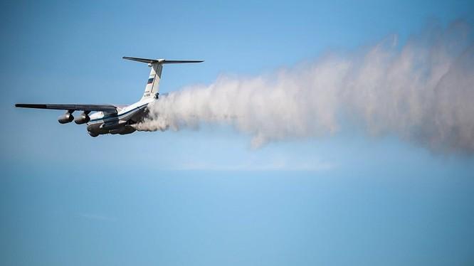 Máy bay IL-76 loại vừa được Nga thông báo mất tích.