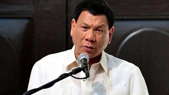 Tân Tổng thống Philippines Rodrigo Duterte.