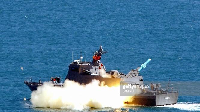 Tàu tuần tra mang tên lửa của Đài Loan (ảnh minh họa)