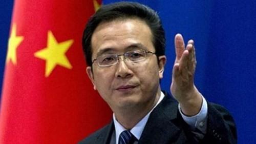 Hồng Lỗi - Người phát ngôn Bộ Ngoại giao Trung Quốc.