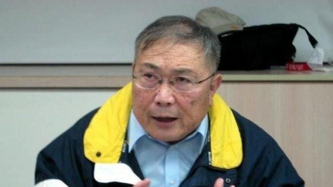 Lan Ninh Lợi, Phó Đô đốc nghỉ hưu Hải quân Đài Loan. Ảnh: Người quan sát, Trung Quốc.