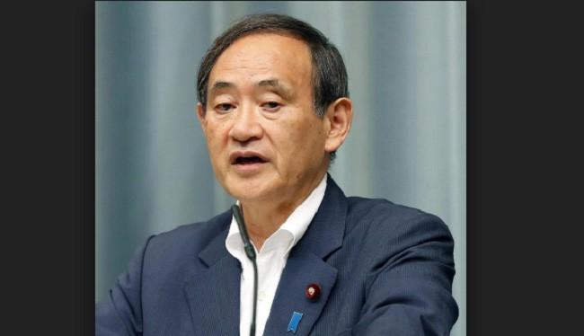 Chánh Văn phòng nội các Nhật Bản Yoshihide Suga.