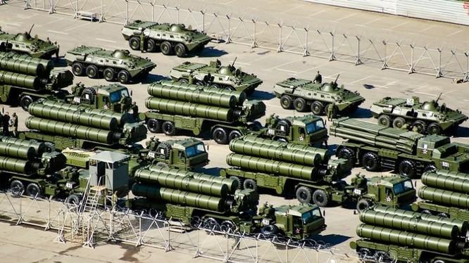 Tên lửa phòng không S-400 của Nga (ảnh minh họa)