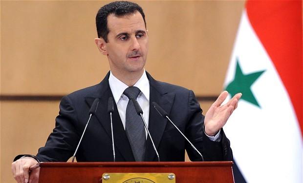 Ông Bashar al-Assad.