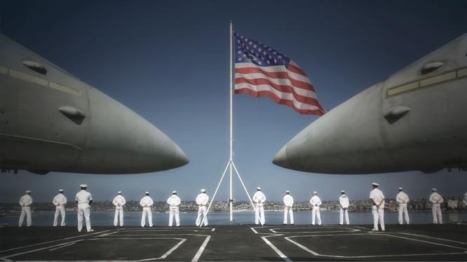 Hải quân Mỹ.