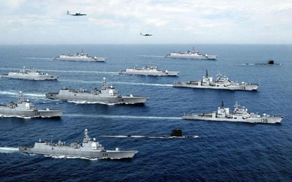 Hạm đội Nam Hải, Hải quân Trung Quốc.