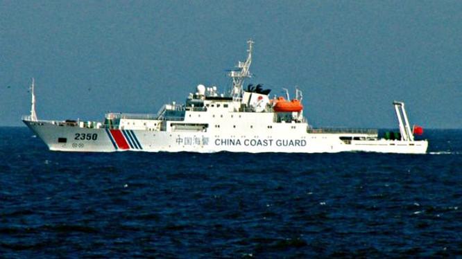 Tàu Hải cảnh Trung Quốc (ảnh minh họa)