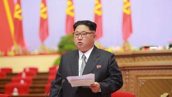 Nhà lãnh đạo Kim Jong Un.