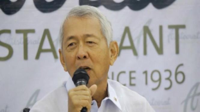 Tân Ngoại trưởng Philippines Perfecto Yasay.