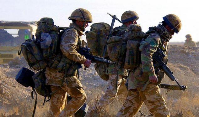 Quân đội Anh ở Iraq (ảnh tư liệu)