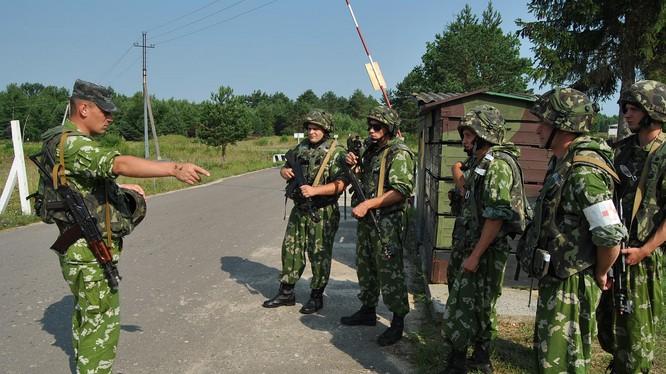 Quân đội Ucraine.