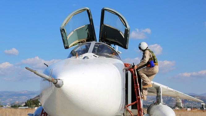Máy bay ném bom Su-24 của Không quân Nga ở Syria (ảnh minh họa)