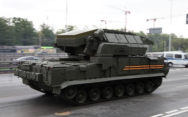 Thành phần của hệ thống phòng không Tor-M2U.