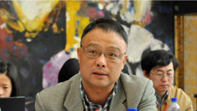 Chu Phong, hàm giáo sư, Chủ nhiệm Trung tâm Sáng tạo Hiệp đồng Biển Đông Trung Quốc, Đại học Nam Kinh, Trung Quốc. Ảnh: báo Nhân Dân, Trung Quốc.
