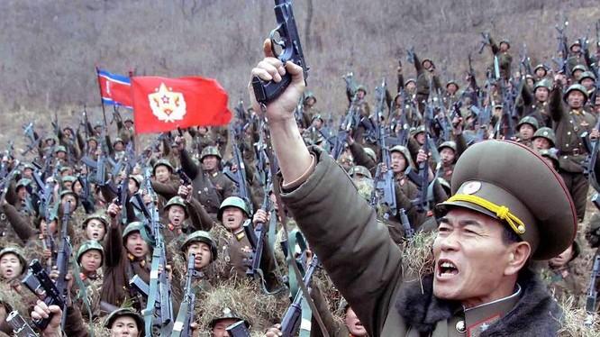 Quân đội Bắc Triều Tiên (ảnh minh họa)