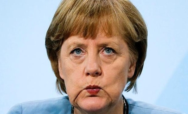 Bà Angela Merkel.