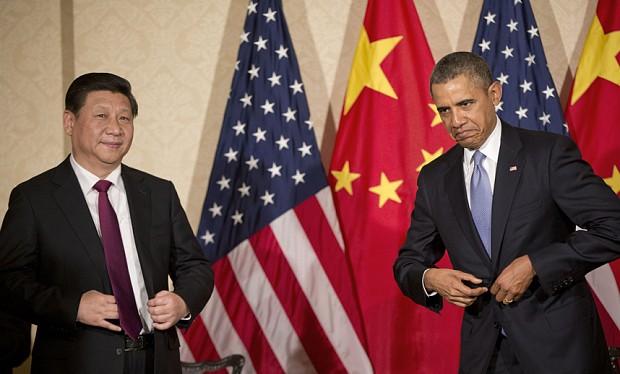 """Ông Tập Cận Bình sẽ rơi vào """"thế thủ"""" (ảnh minh họa: Lãnh đạo Mỹ - Trung)"""