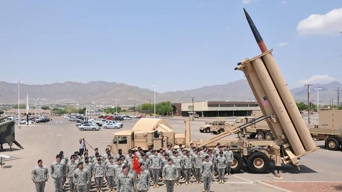 Hệ thống tên lửa đánh chặn THAAD.