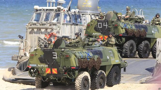 Lực lượng NATO tham gia một cuộc tâp trận (ảnh minh họa)