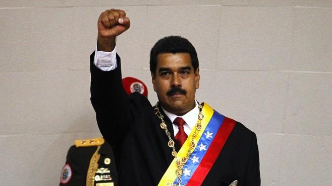 Tổng thống Venezuela Maduro.