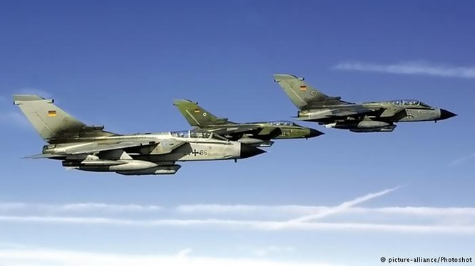 Máy bay chiến đấu của Không quân Đức.