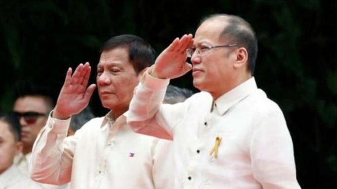 Tân Tổng thống Philippines Rodrido Duterte có thái độ với Trung Quốc khác với cựu Tổng thống Benigno Aquino III. Ảnh: Báo Phượng Hoàng, Hồng Kông.
