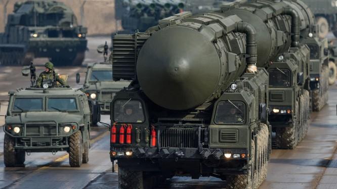 400 đơn vị vũ khí của Lực lượng tên lửa Nga tập trận