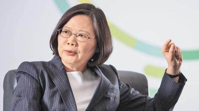 Tổng thống Đài Loan Thái Anh Văn. Ảnh: Chinatimes Đài Loan.