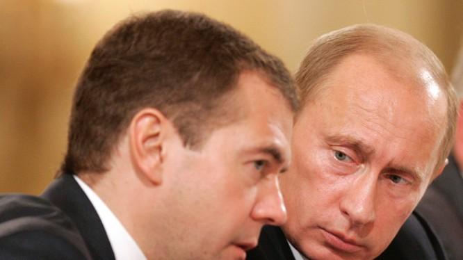 Thủ tướng Nga Medvedev.