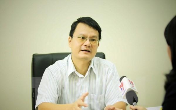 Ông Trần Việt Thái, Phó Viện trưởng Viện Nghiên cứu Chiến lược, Học viện Ngoại giao. (Ảnh: Trọng Đạt/TTXVN)
