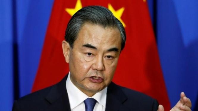 Vương Nghị, Bộ trưởng Ngoại giao Trung Quốc. Ảnh: Thời báo Tự do, Đài Loan.